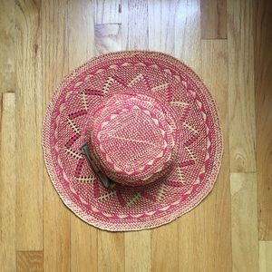 Anthropologie Bettina straw hat